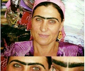 funny, lol, and eyebrows image