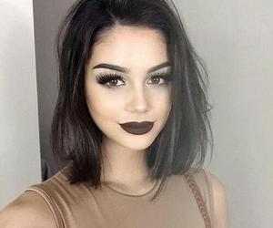 black hair, fashion, and pretty image
