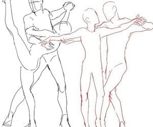art, dance, and anime image