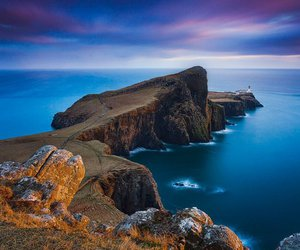 lighthouse, europe, and nature image