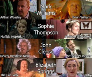 harrypotter and downton abbey image