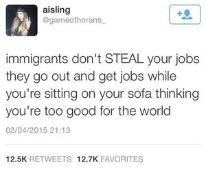 ignorant, donaldtrump, and racist image