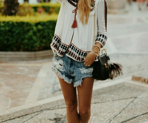 outfit, boho, and clothes image