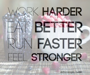 run, work, and fitness image
