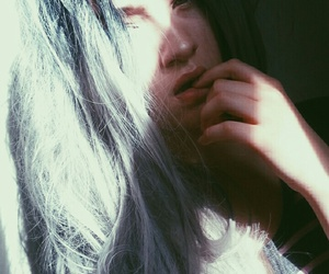 alternative, dyed hair, and grunge image