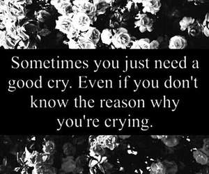 alone, cry, and quotes image