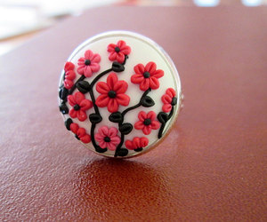 etsy, adjustable ring, and ready to ship image