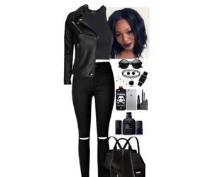 black, Polyvore, and booties image