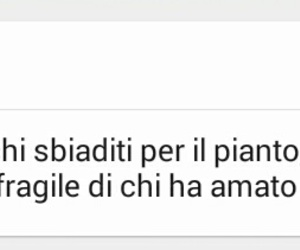 cry, frasi, and italiano image