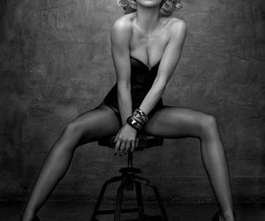 beautiful, blonde, and fashion image