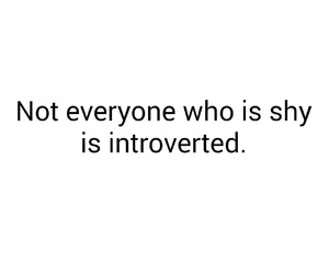hyper, introvert, and quote image