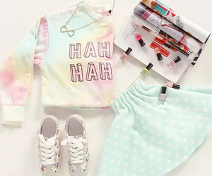 fashion, outfit, and pastel image
