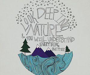quotes, nature, and Albert Einstein image