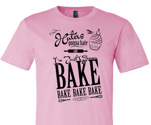 baking, tshirts, and bakers image