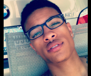 bmw, glasses, and lips image