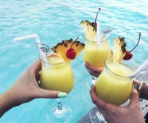 ananas, nice, and beach image