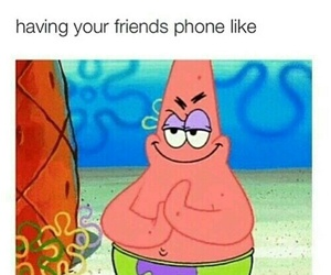 funny, friends, and phone image