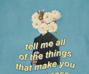 quotes, troye sivan, and flowers image