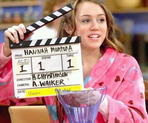 miley cyrus, hannah montana, and disney image
