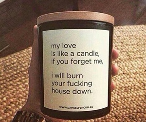 candle, love, and funny image