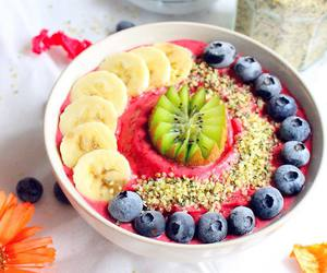 bowl, fitness, and breakfast image