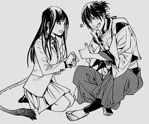noragami, manga, and hiyori image