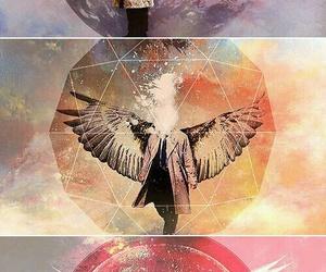 supernatural, castiel, and angel image
