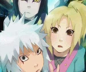 naruto, orochimaru, and tsunade image