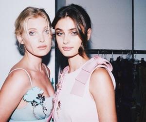 model, elsa hosk, and fashion image