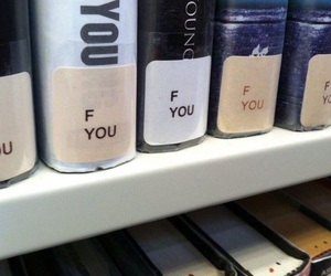 books, aesthetic, and funny image