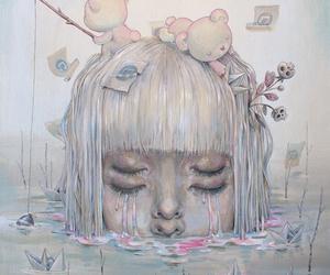 art, Chiara Bautista, and drawing image