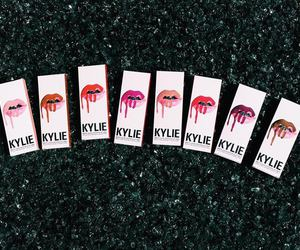 kylie jenner, lips, and lipstick image