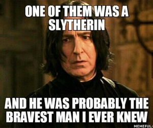 alan rickman, gryffindor, and harry potter image