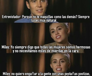 frases, miley cyrus, and miley image