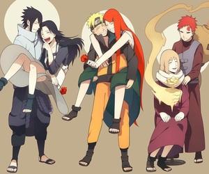 naruto, gaara, and sasuke image