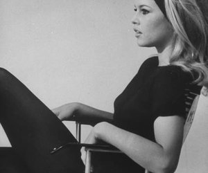 brigitte bardot, black and white, and vintage image