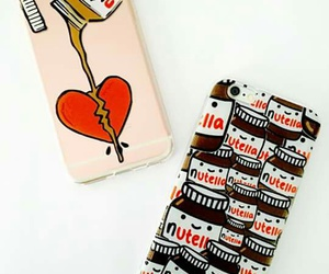 cases, iphone, and nutella image