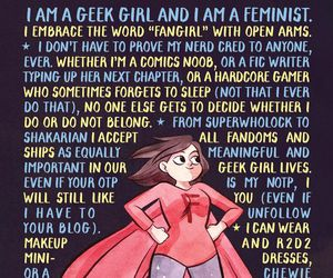 girl and fangirl image