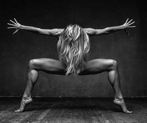 b&w, body, and photography image