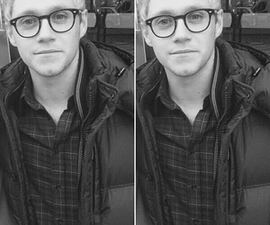 niall horan, one direction, and glasses image