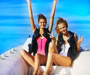 josephine skriver, taylor hill, and girls image