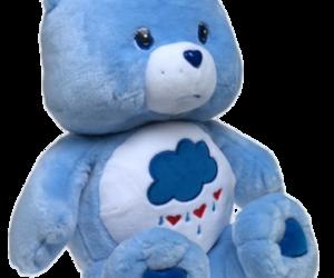 blue, ᵀᴿᴬᴺˢᴾᴬᴿᴱᴺᵀˢ, and care bear image