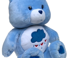 blue, care bear, and doll image