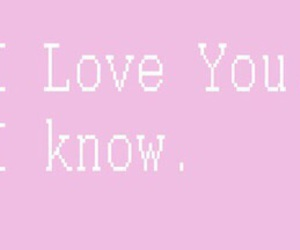 starwars, iloveyou, and iknow image