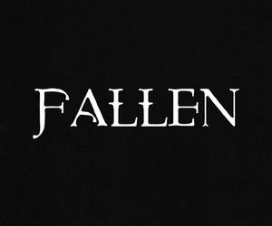 angels, fallen, and header image