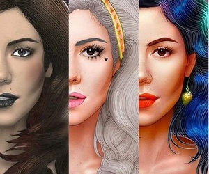 marina and the diamonds, froot, and electra heart image