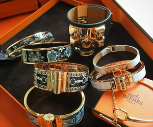 bracelet, hermes, and jewelry image