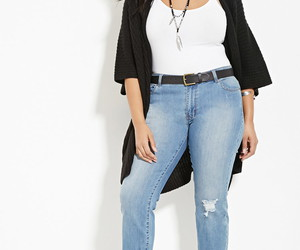 plus size, fashion, and forever 21 image