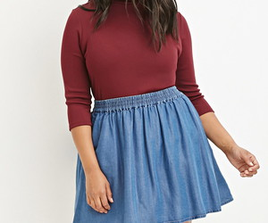 forever 21 and plus size fashion image