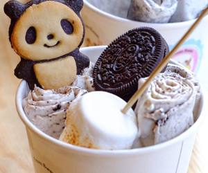chocolate, cookie, and panda image